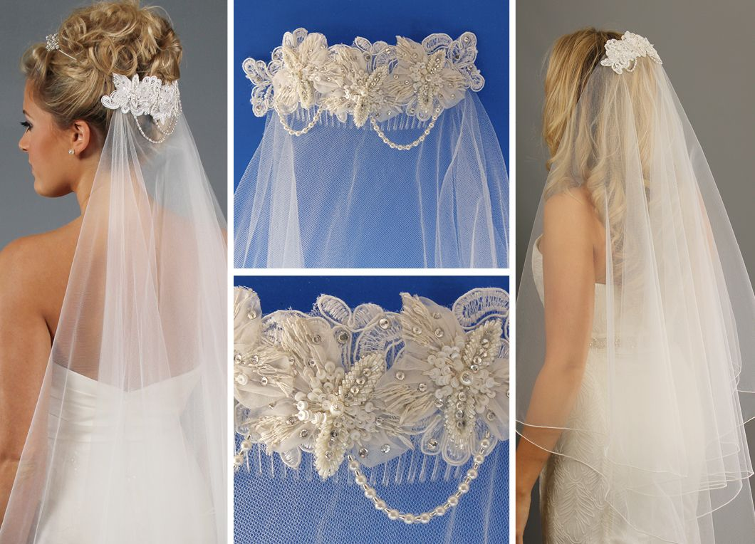 wedding veils wedding veils with comb Hairstyles for older women with thinning