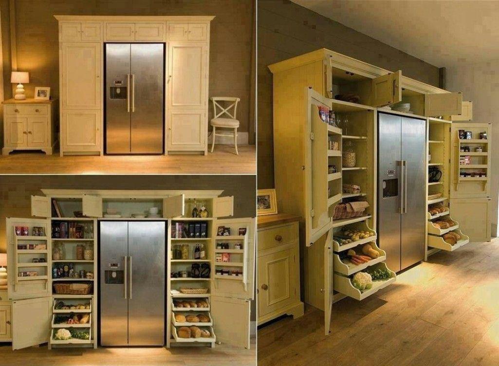 Top Small Kitchen Appliance Storage Ideas - Built ins surround - kitchen storage ideas for small spaces