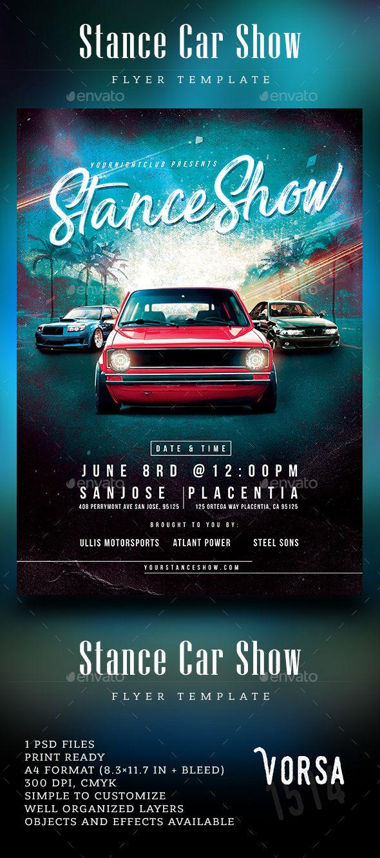 car show flyer template
