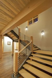 modern, rustic industrial staircase railing - Google ...