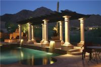 Pergola, Columns, Lighting, and Patio by JSL Landscape LLC ...