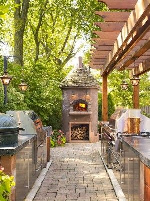 70 Awesomely clever ideas for outdoor kitchen designs - outdoor kueche kochen freien planung