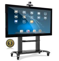 Universal Mobile Heavy Duty TV Cart TV Stand with Mount ...
