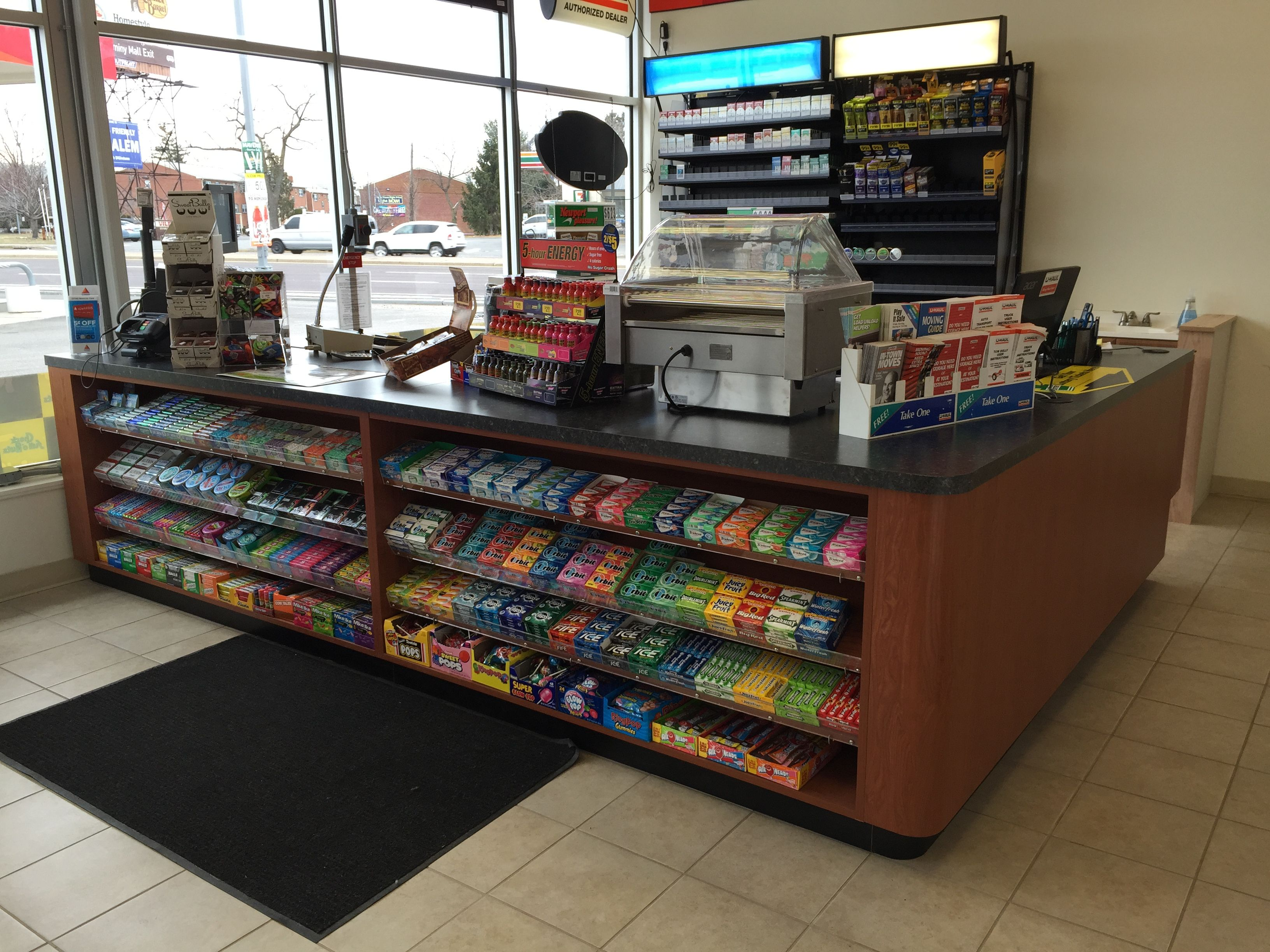 Sale Counter Design Handy Store Fixtures Sales Counter For Convenience Stores