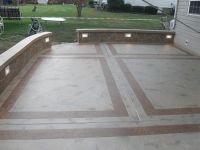 cement patio designs | Unique Concrete Design, LLP ...