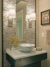 powder bath design | Attractive Powder Room Design Ideas ...