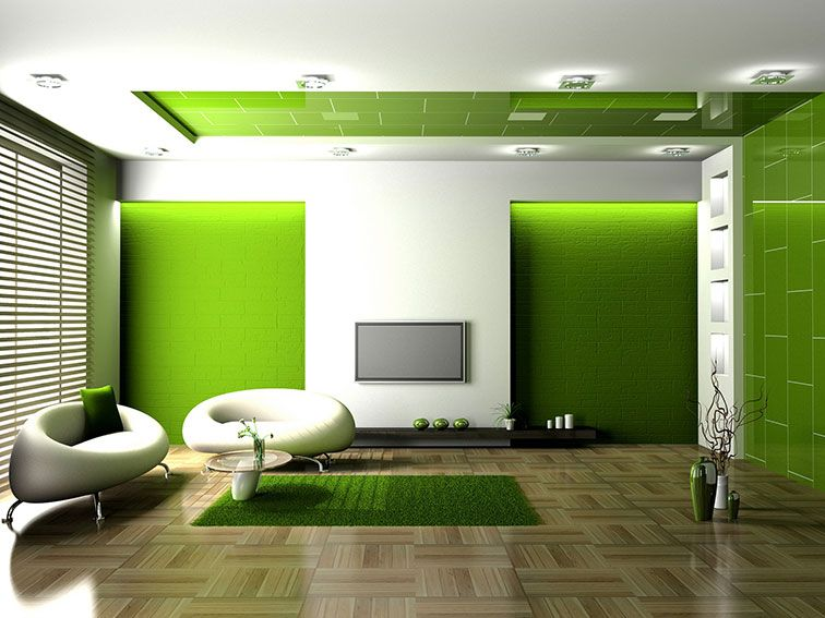 1000+ Images About Green Living Room On Pinterest | Fireplaces