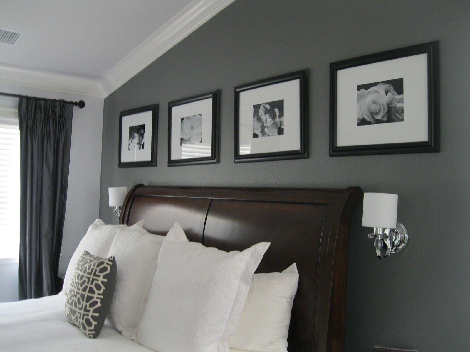 Industrial Grey Paint Nuetral Gray Paint With Light Stained Trim Legendary