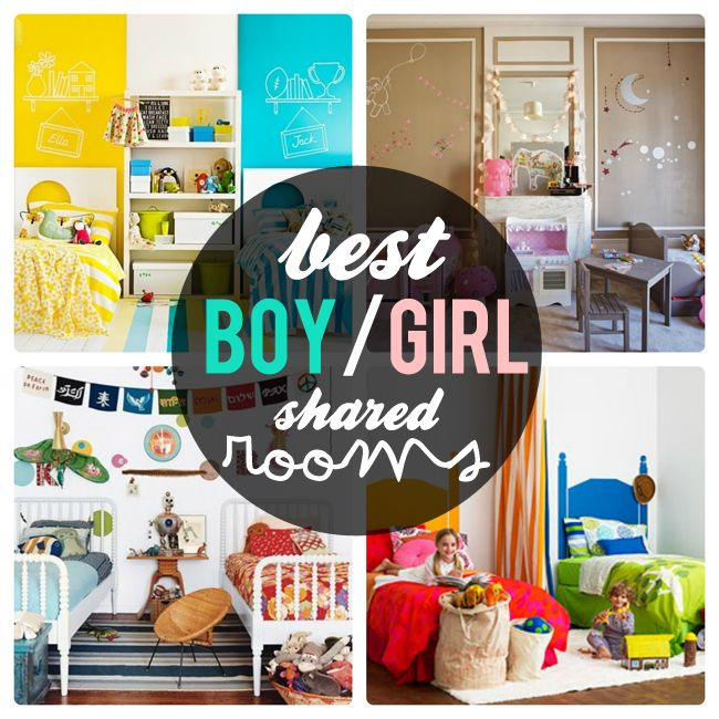 girls and boys shared bedroom ideas - Google Search Their own - boy and girl bedroom ideas