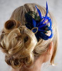 Wedding Hair Accessories Feather | Fade Haircut