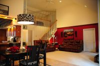 Great room w/loft, vaulted ceilings and lots of natural ...