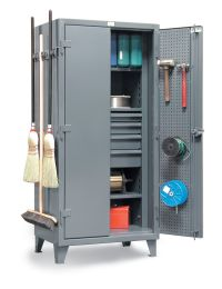 Janitorial Tool & Supply Storage Cabinet - Combination ...