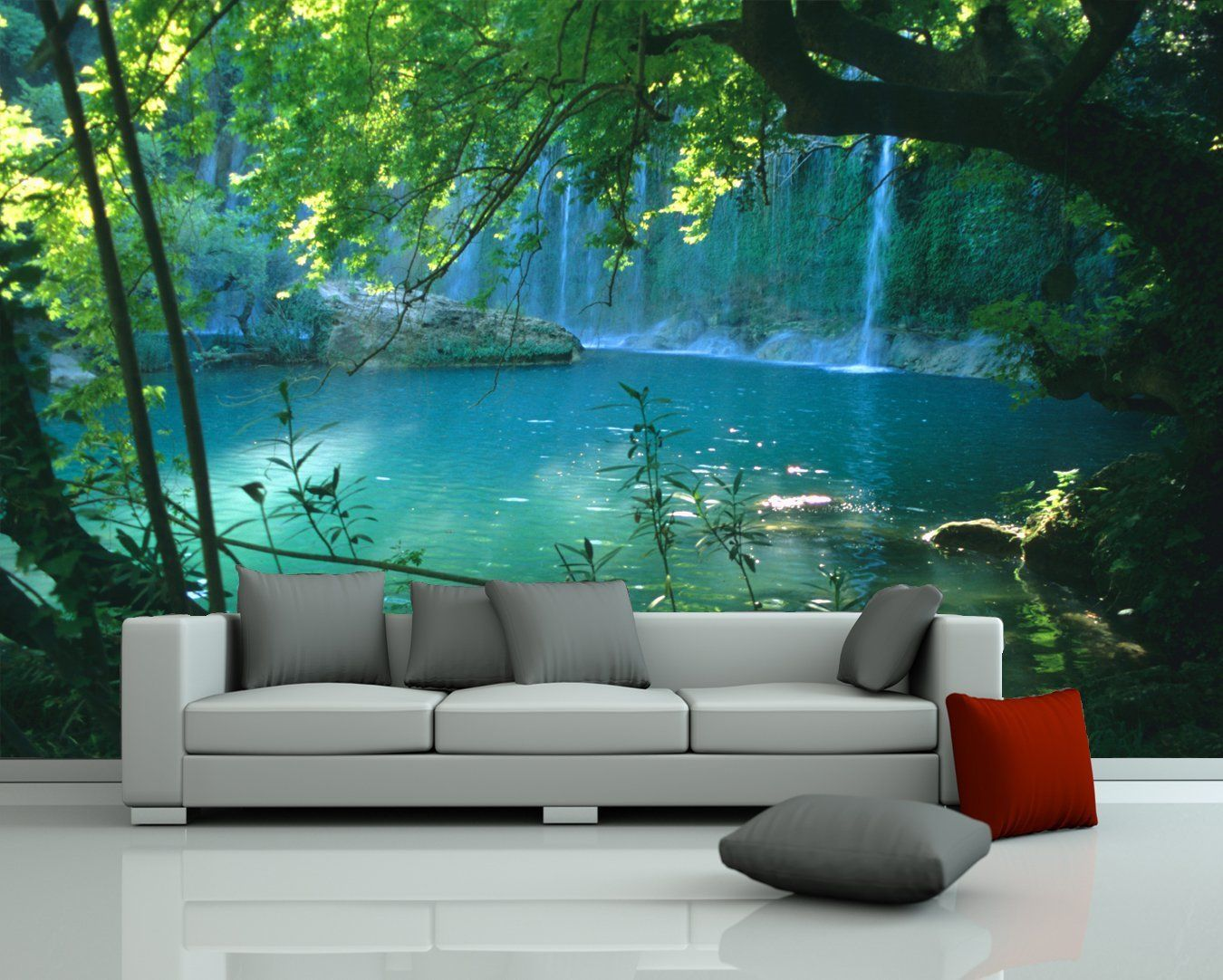 Bildtapeten Schlafzimmer Bilderdepot24 Fototapete Photo Wallpaper Mural Quotwaterfall