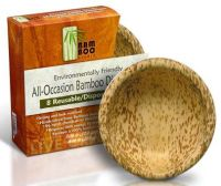 Bamboo Studio - Bamboo Dinnerware Round Bowl Reusable ...