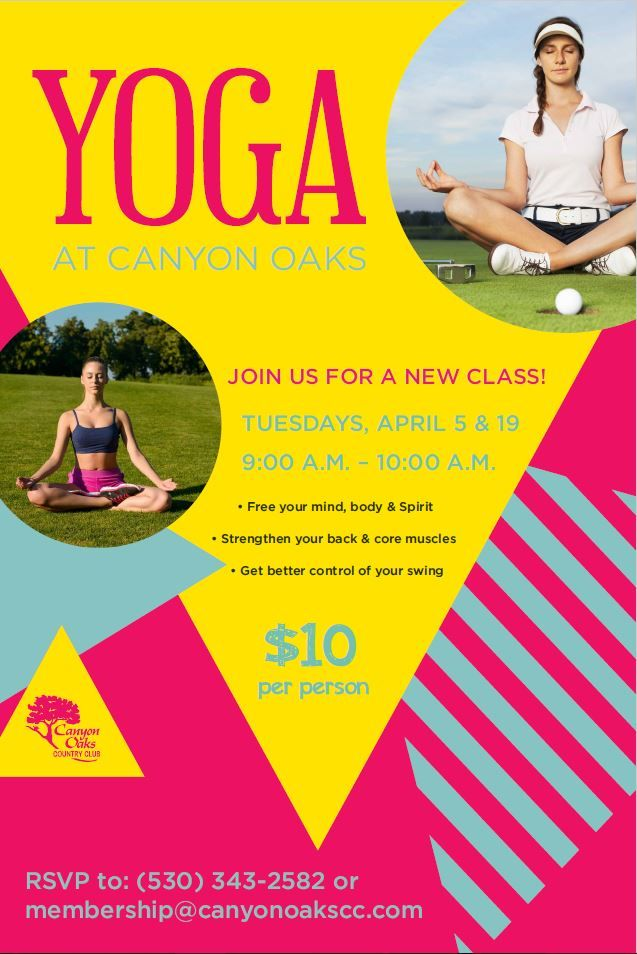 Yoga class event flyer poster template Fitness Events Pinterest - yoga flyer