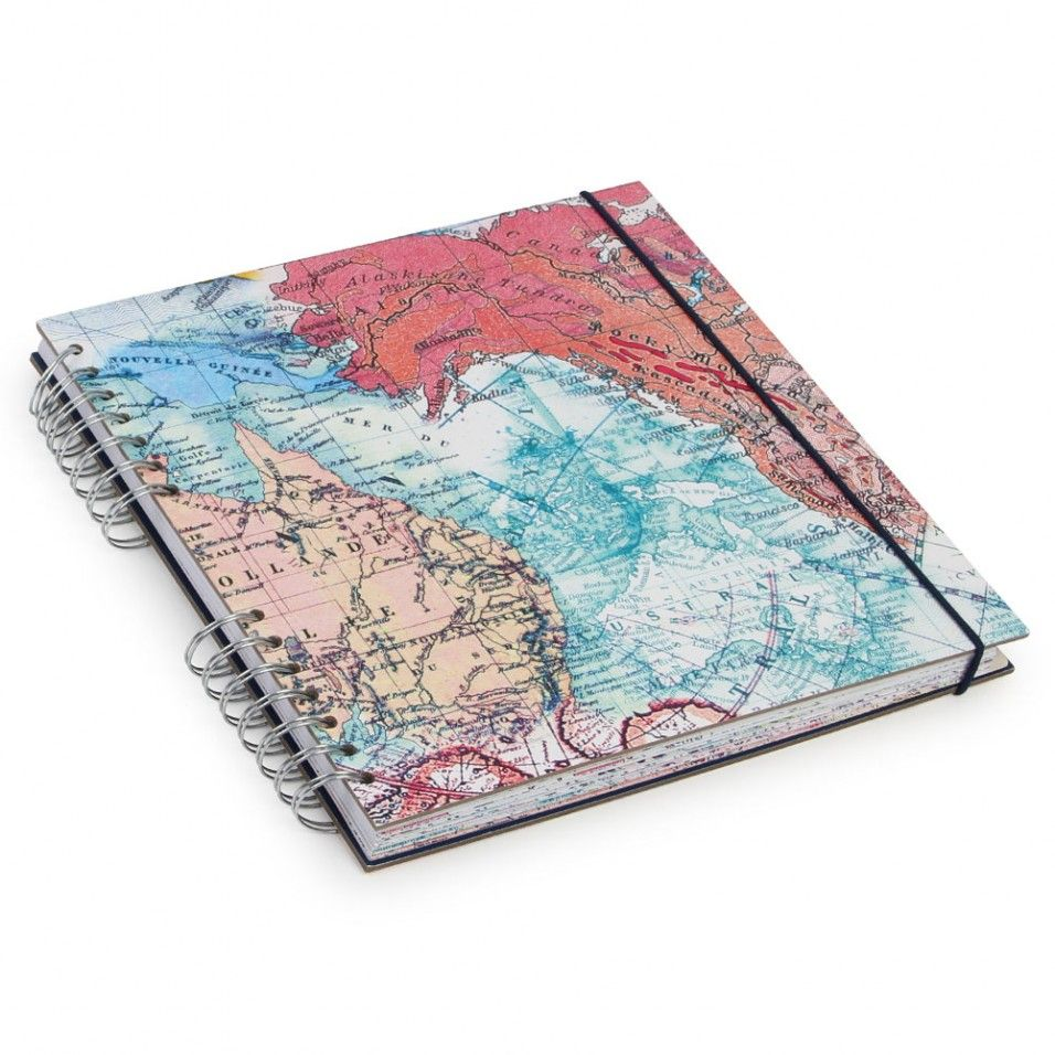 Map travel scrapbook paperchase