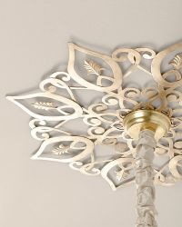 ceiling medallions for chandeliers diy | Star Ceiling ...