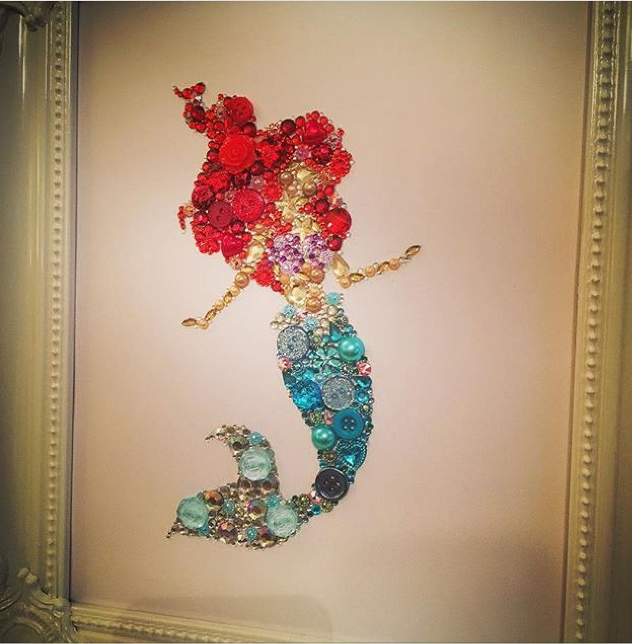 Mermaid Gift Ideas Disney The Little Mermaid Wall Art Baby Shower Ariel Gift