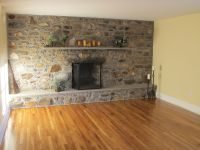 Architecture. Fireplace Stone Wall Decoration Ideas For
