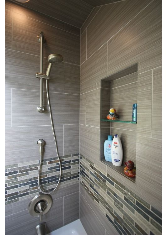 Shower design idea - Home and Garden Design Ideas Beautiful - small bathroom tile ideas