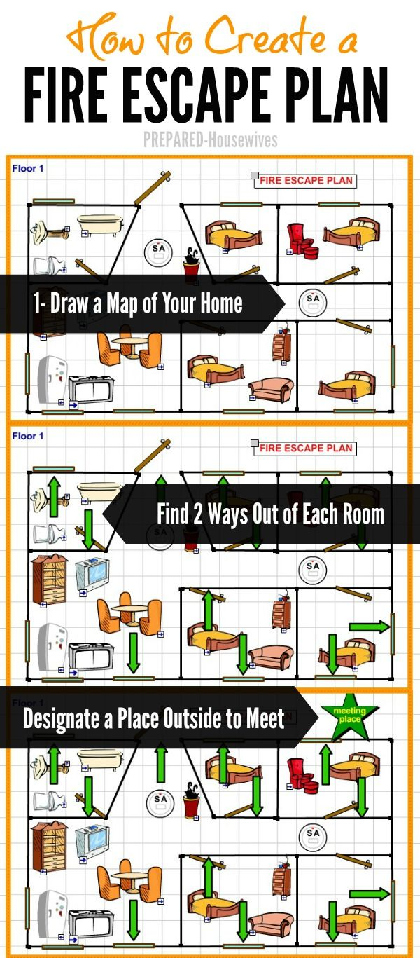 Insert Company Name Cuffs Fire Escape Planning Tool Create Your Home Fire Escape