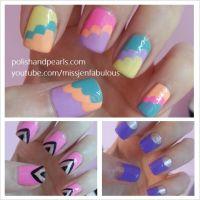 Three easy nail art ideas for beginners! | NAIL LOVE ...