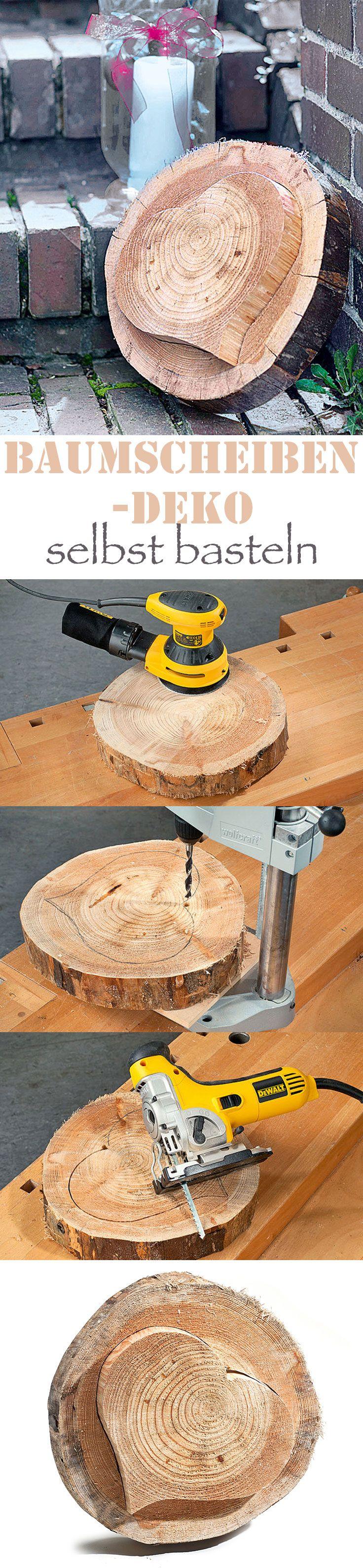 Basteln Mit Baumscheiben Woods Woodworking And Wood
