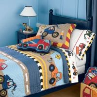 This is the cutest construction bedding set I have seen ...