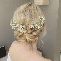 Wedding Hairstyles With Gypsophila | Fade Haircut