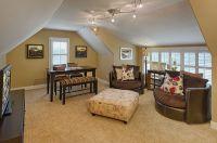 Bonus room above garage-i'd want a king sized mattress ...
