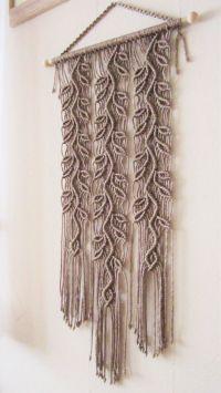 Macrame Wall Hanging Sprigs 4 Handmade Macrame Home by ...