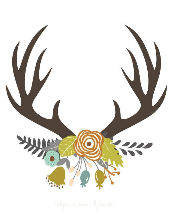 Its Fall Yall Wallpaper Fall Antler Art Free Printable Antlers And Printing