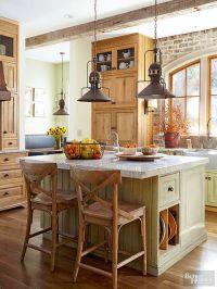 Fresh Farmhouse Lighting | Farmhouse kitchen island ...