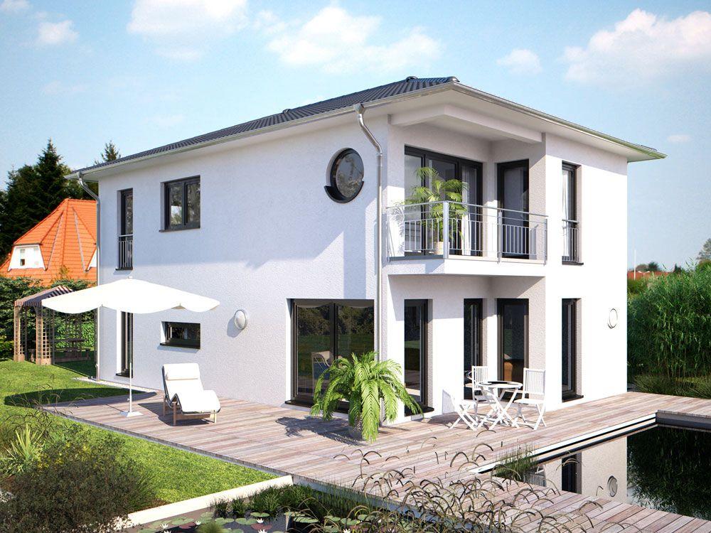 Hommage 136 Walmdach Gartenseite --u003e Zahlreiche Bauhaus Wohnideen - wohnideen modern