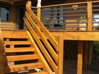 Portrayal of Horizontal Deck Railing Embraces Every ...