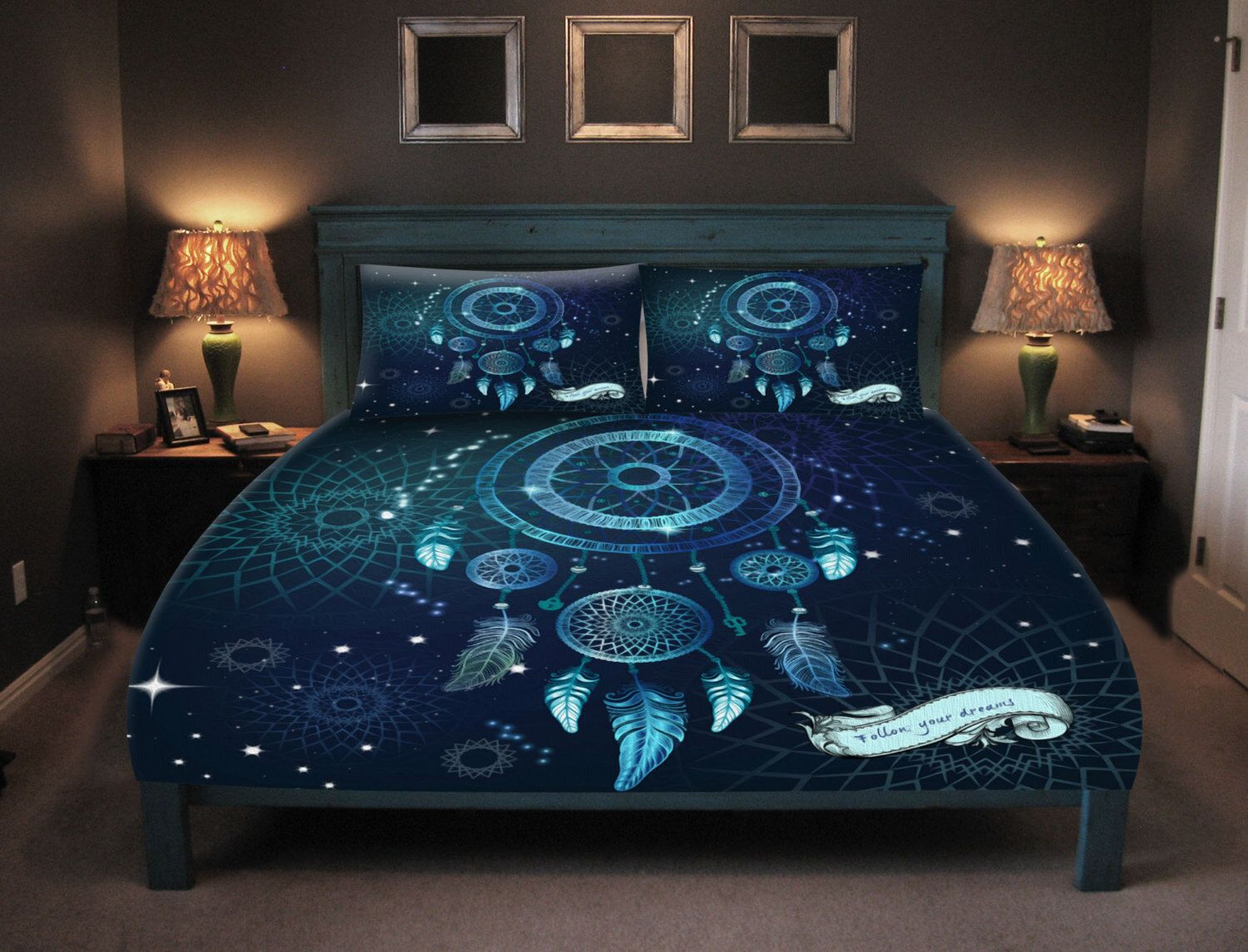 Bettwäsche Galaxie Dream Catcher Bedding Duvet Cover Set 0r Comforter