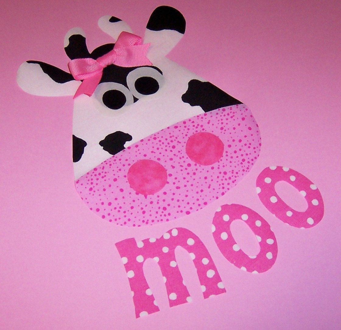 Applique Fabric Applique Template Pattern Only Cow And Moo By
