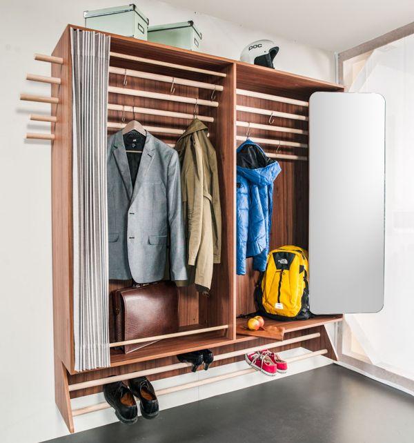 A Wardrobe For A Narrow Hallway Storage Tiny Houses And