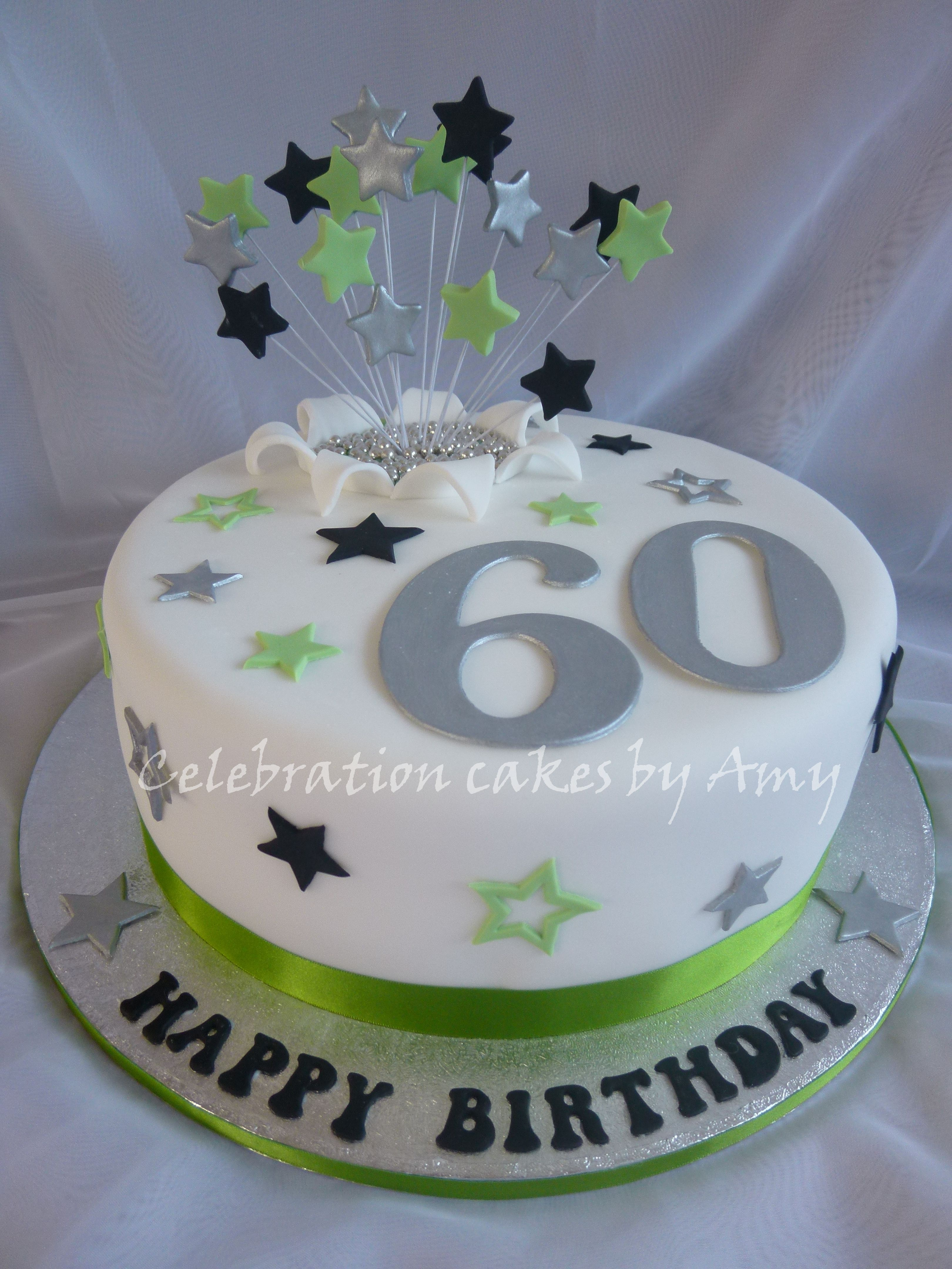 Male 39s 60th Birthday Cake 11 Quot Sponge With