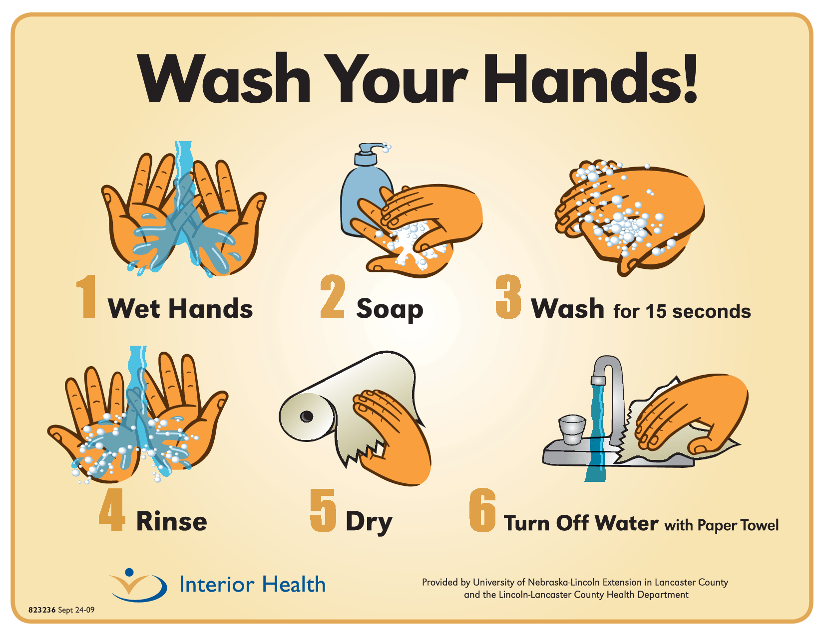 Handwashing posters food safety posters page 2