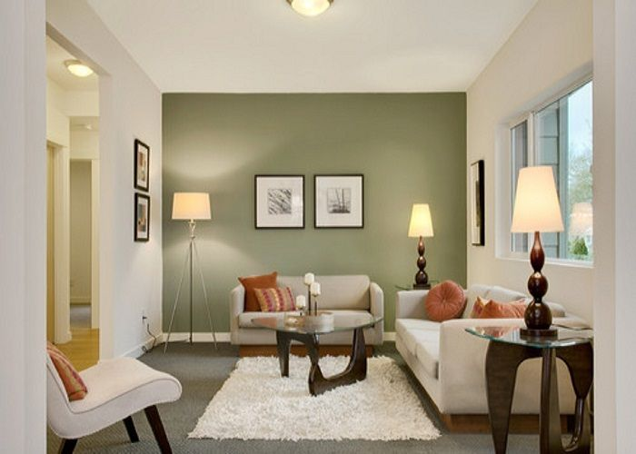 100 Awesome Living Room Ideas For Your Home Wall painting colors - accent wall in living room