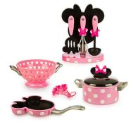 Minnie Mouse Kitchen Bowtique Set Play Accessories Playset ...
