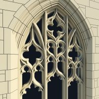 Images For > Gothic Window | Filigree and Tracery ...