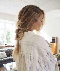 Loose, messy braid for long hair. | Braids on Braids ...