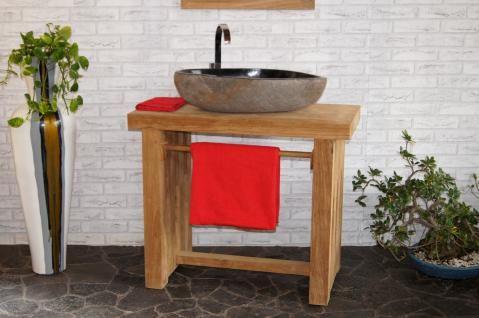 Waschtisch mit Unterschrank 80 cm Nr 58105 Unterbau Bad - badezimmer konsole