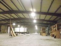 Foam sprayed on a warehouse ceiling in Toledo area. Spray ...