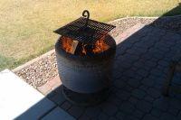 Washing machine tub fire pit   Repurposing Ideas ...