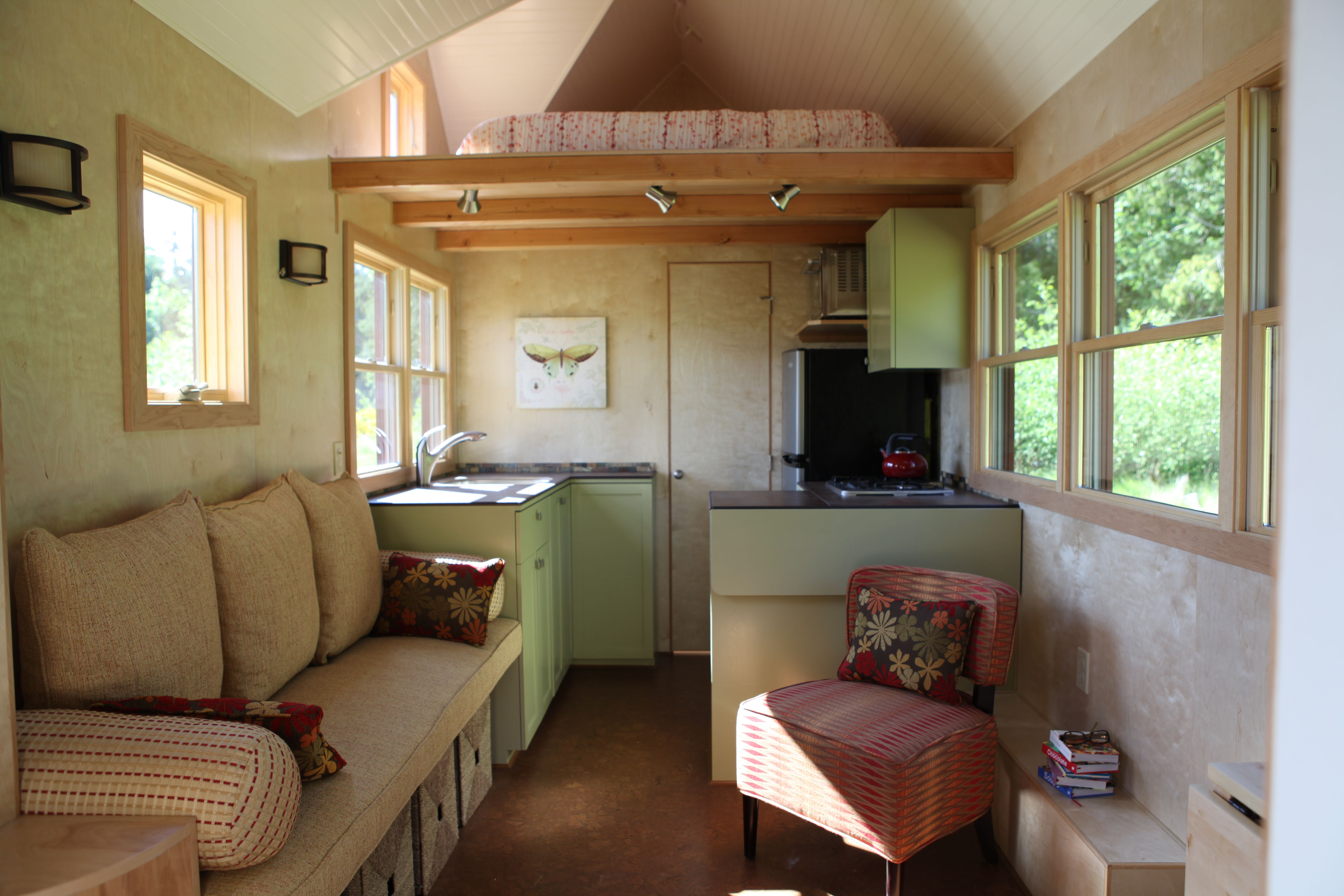 Inside House Ideas Tiny Homes On Pinterest Park Model Homes Tiny Cabins