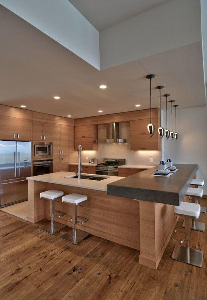 einrichtungsideen küche modern wohnen kücheninsel bartheke Dope - moderne modulare kuche komfort