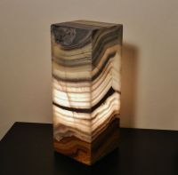 Natural Stone Lamp Onyx/alabaster Modern by ...